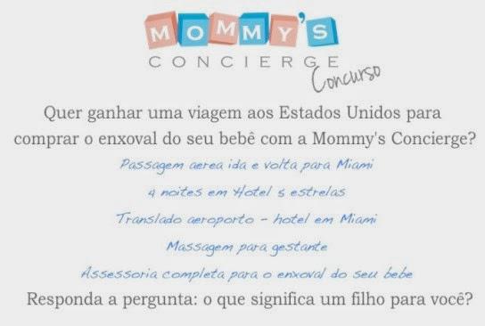 """Concurso cultural Mommy's Concierge - """"Enxoval de Bebê em Miami"""""""
