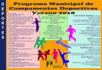 Programa Municipal de Campamentos Deportivos