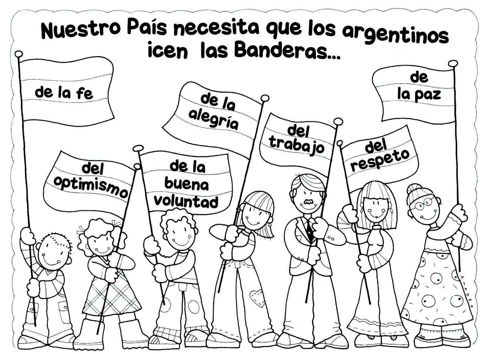 Bandera De Argentina Para Imprimir