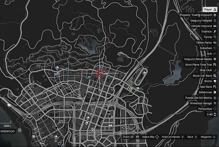 GTA 5, Human Locations, Zombie