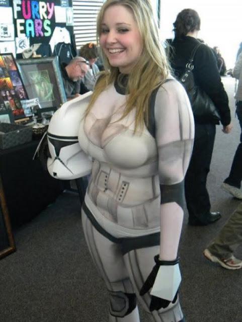Sexy Strom Trooper