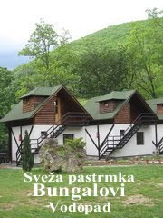 Restoran - Svea pastrmka ispod vodopada