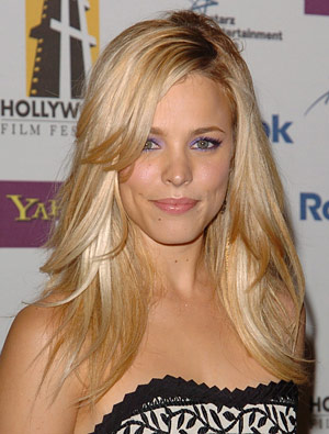 Also, Rachel McAdams, friend of Michael's as well as someone Michelle ...