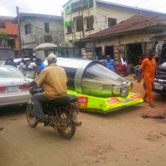 Amazing! Made in Nigeria Hovercraft