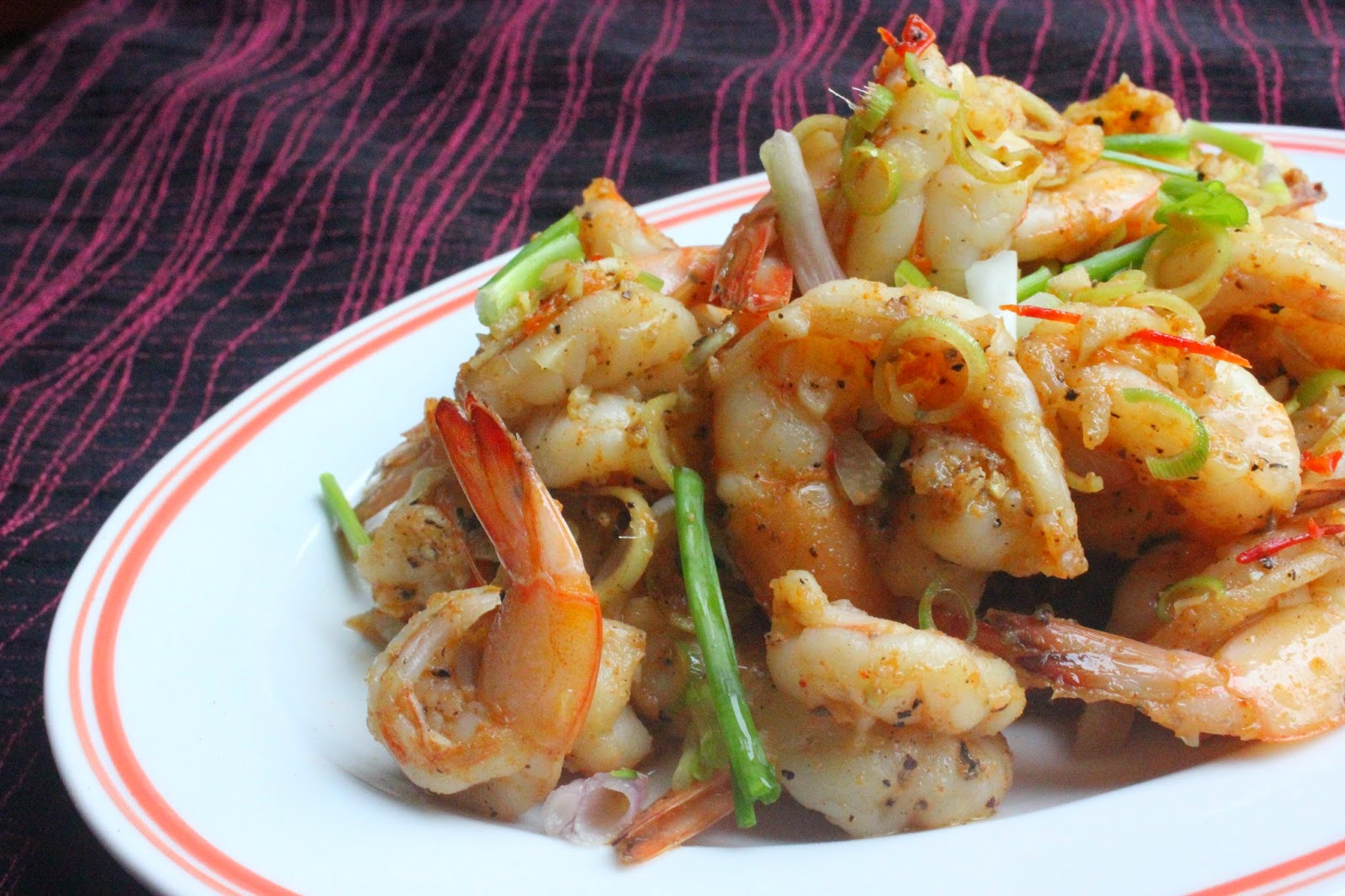 The morning after spicy lemongrass prawns for Fish sauce stir fry