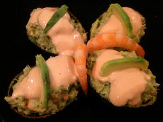 Cocina con Aníbal Aguacates rellenos con frutos del mar