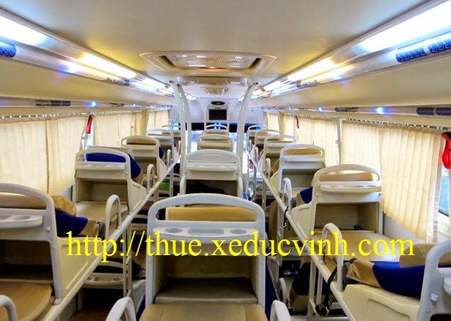 Cho thuê xe giường nằm đi Quảng Bình
