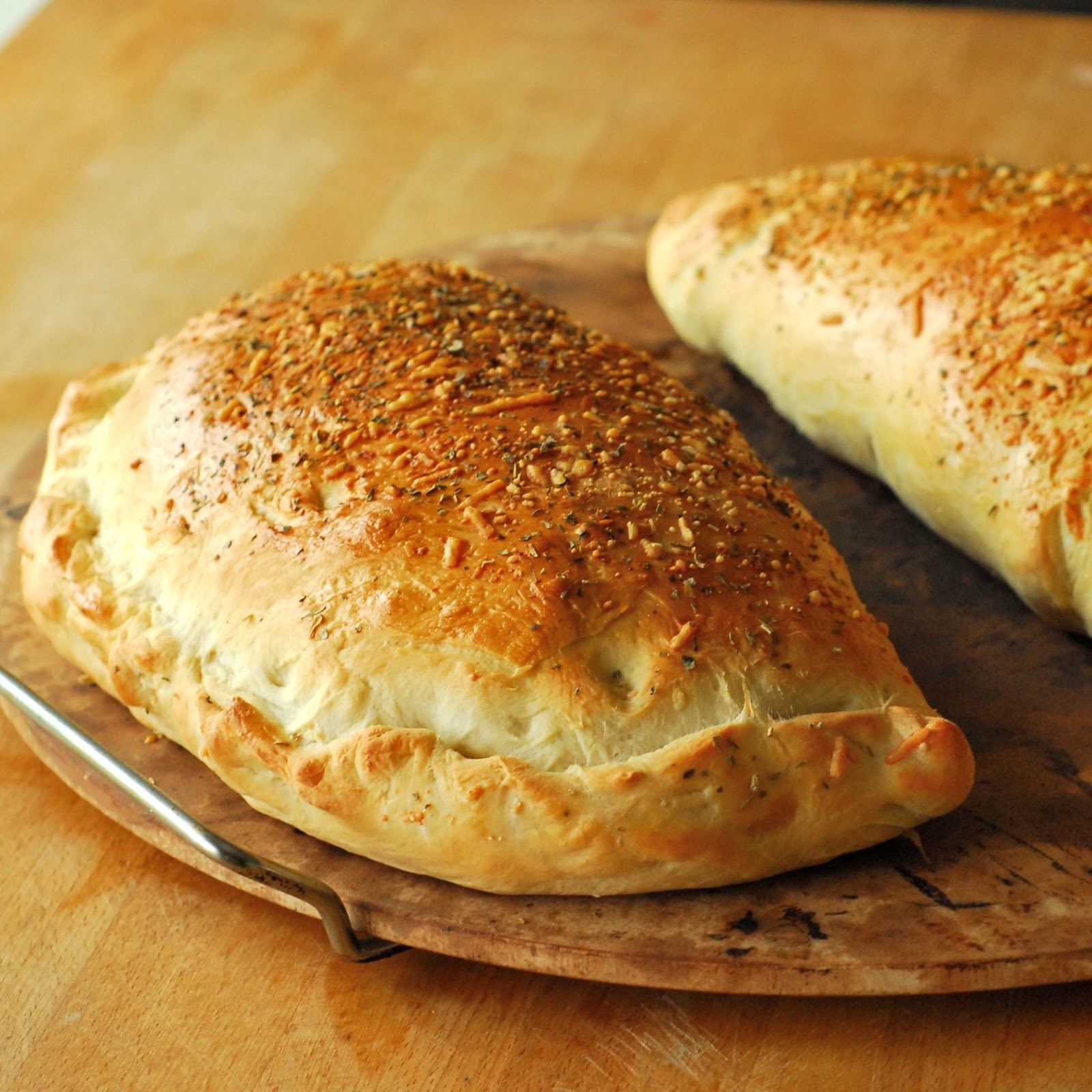 Calzone with Pizza Dough Recipe