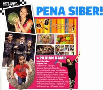 Blog Pilihan InTrend Ogos 2011