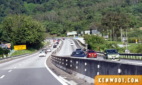 malaysia highway day drive