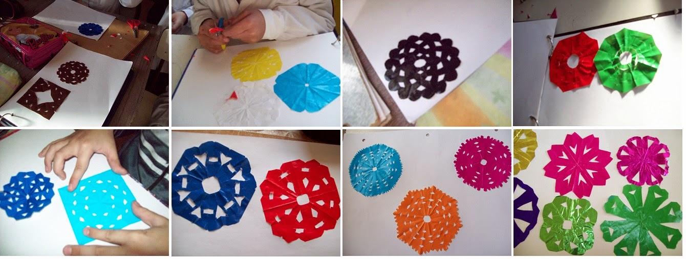El arte en la escuela proyecto con ojos de artistas - Friso de papel ...