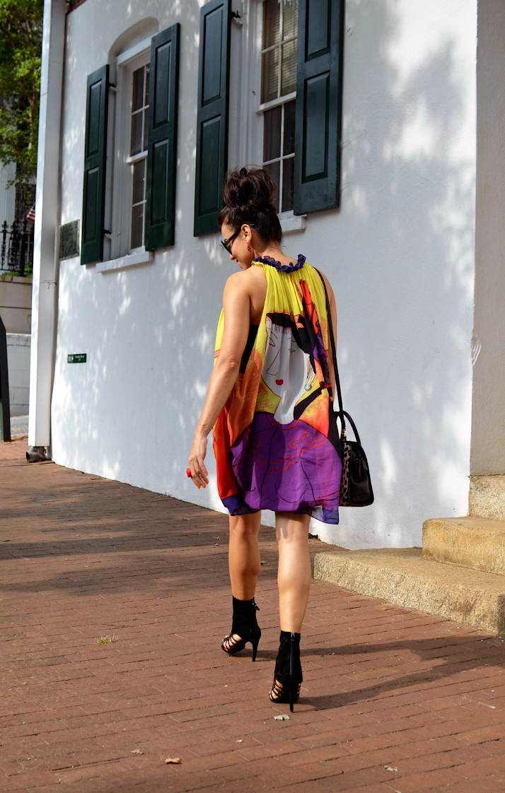 TENT DRESS STREET STYLE