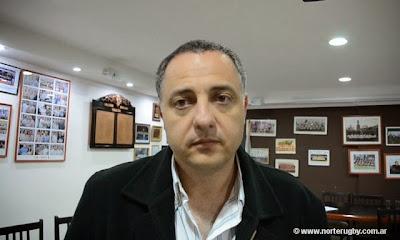 Adolfo Mimessi, Presidente de la Unión de Rugby de Salta