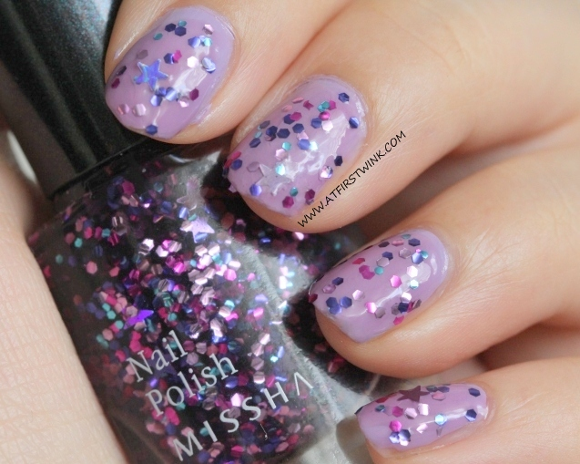 Missha The Style nail polish Gem Stone- Amethyst