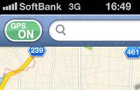 GPSボタン