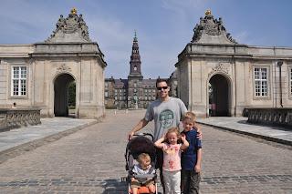 family vacation photo album denmark