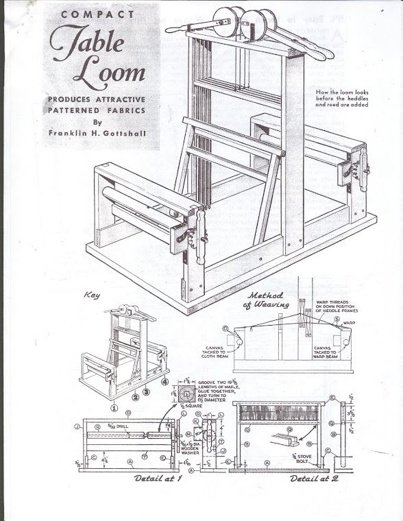 Weaving Loom Plan