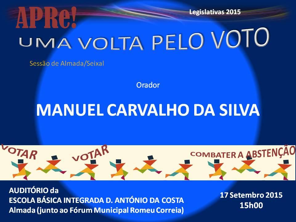 Uma volta pelo VOTO, sessão pública de esclarecimento promovida pela APRe! em Almada