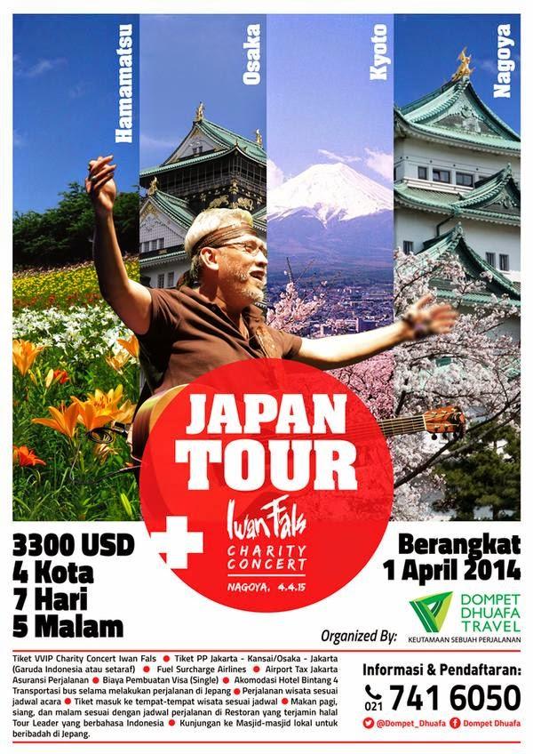 Konser Iwan Fals di Jepang