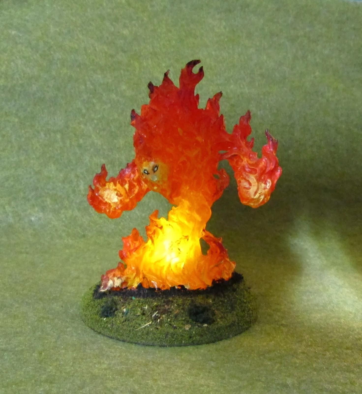 reaper fire elemental - HD1472×1600