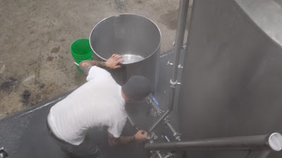 trapping water in the mash tun