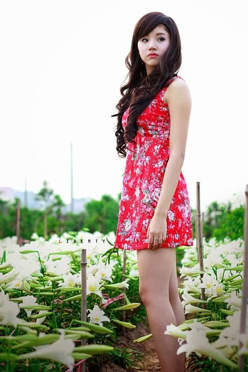 Ngắm kiều nữ xinh đẹp Hà Thành