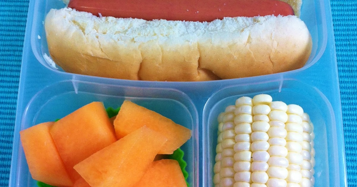 How To Pack Hot Dogs In A Bun In Lunchbox