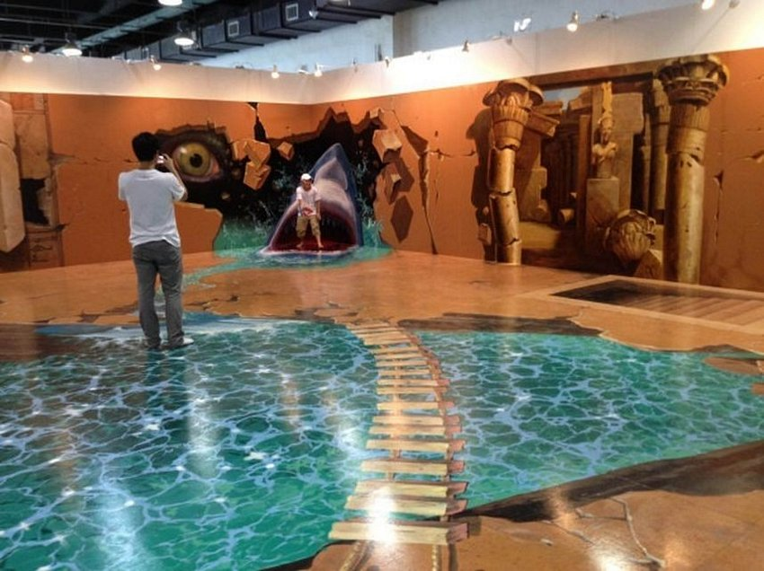 3D Floor Ocean 1