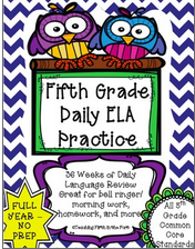 https://www.teacherspayteachers.com/Product/ELA-Daily-Morning-WorkBell-Ringer-NO-PREP-FULL-YEAR-Meets-All-CCSS-Standards-1948669