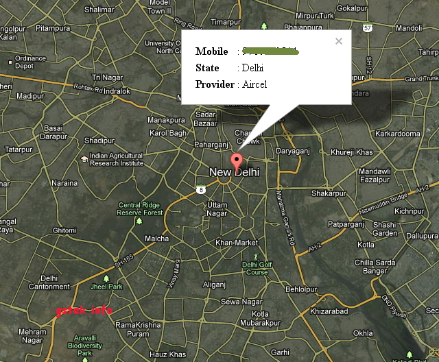 HACK THE WORLD: Find Location Of Indian Mobile Number
