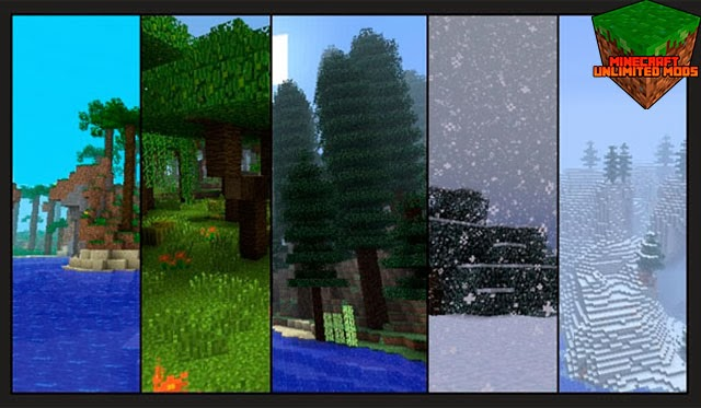 Biomes O' Plenty Mod Minecraft