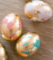 Как да си направим златни великденски яйца