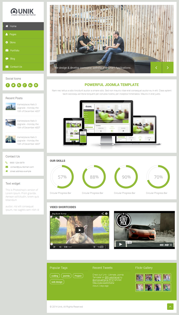 Joomla Template Download Free