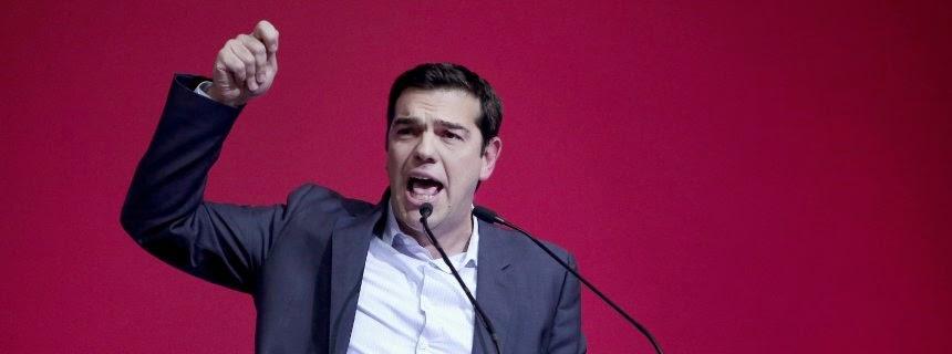 Ο ηγέτης τουΣΥΡΙΖΑ Αλέξης Τσίπρας