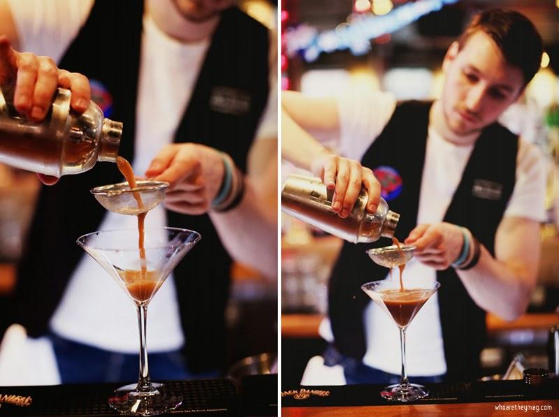 Оформление коктейля