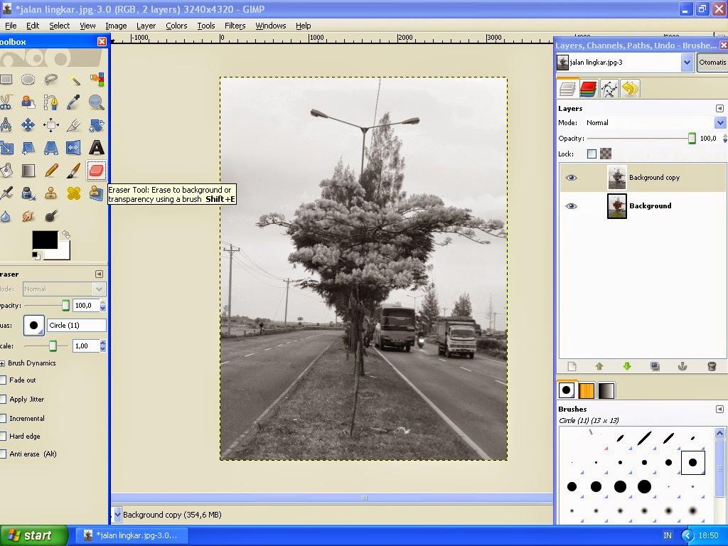 Membuat Gambar Effect Selective Color Dengan GIMP 6