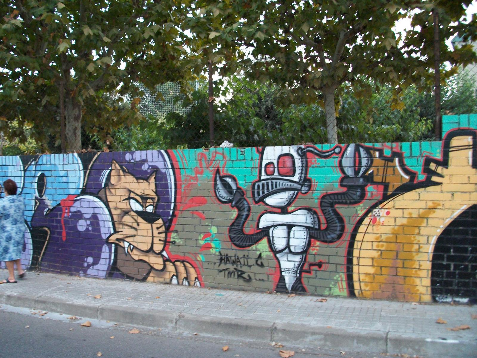 Graffitis arte callejero el blog de catalina for Graffitis y murales callejeros