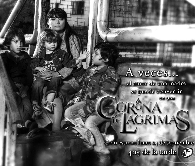 Posters oficiales de la telenovela Corona de Lagrimas, protagonizada ...