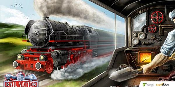 Rail Nation, estrategia y simulador de trenes gratis en el navegador