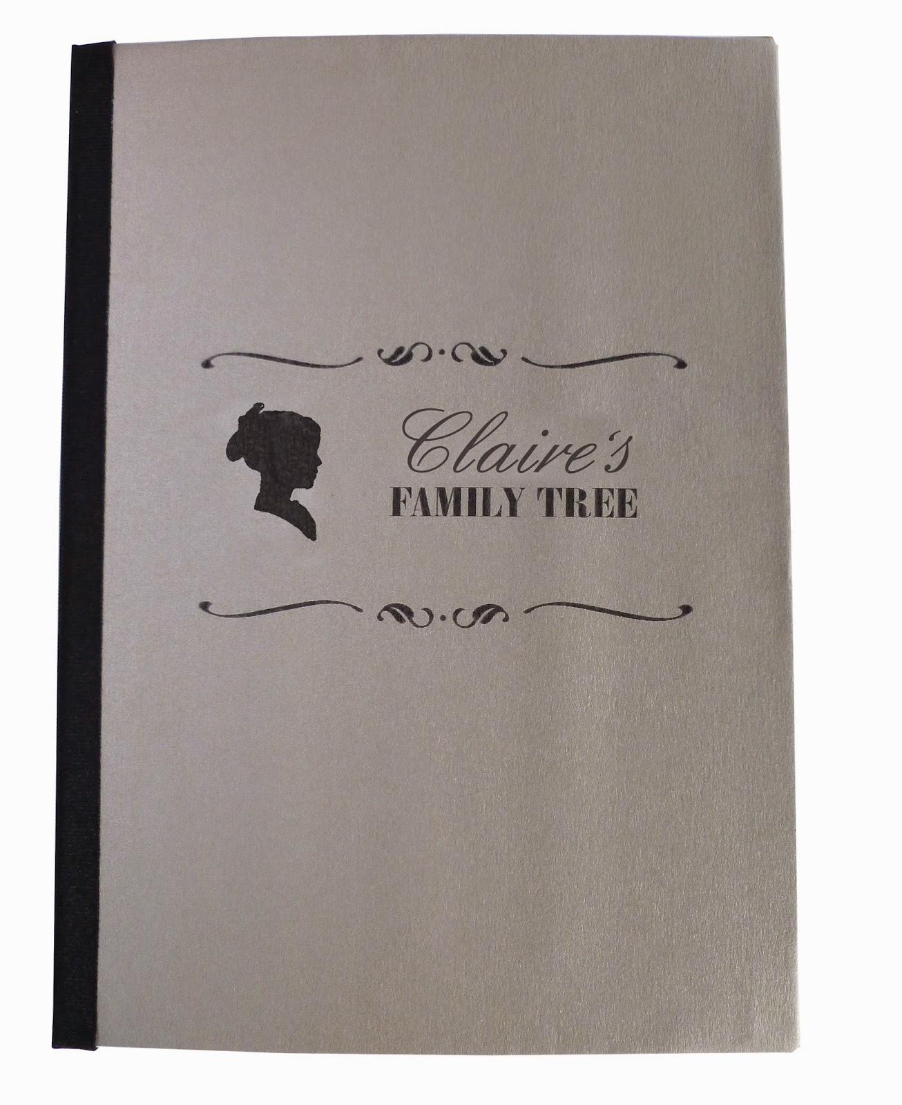 Family tree notebook