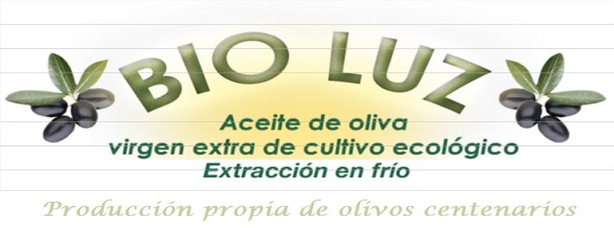 """Aceite de Oliva Virgen Extra Ecológico AOVE """"Bio Luz"""". Producción de olivos centenarios"""
