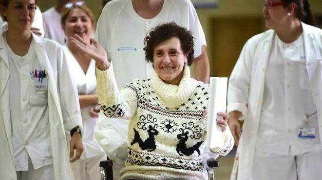 La sanitaria gallega superó el ébola