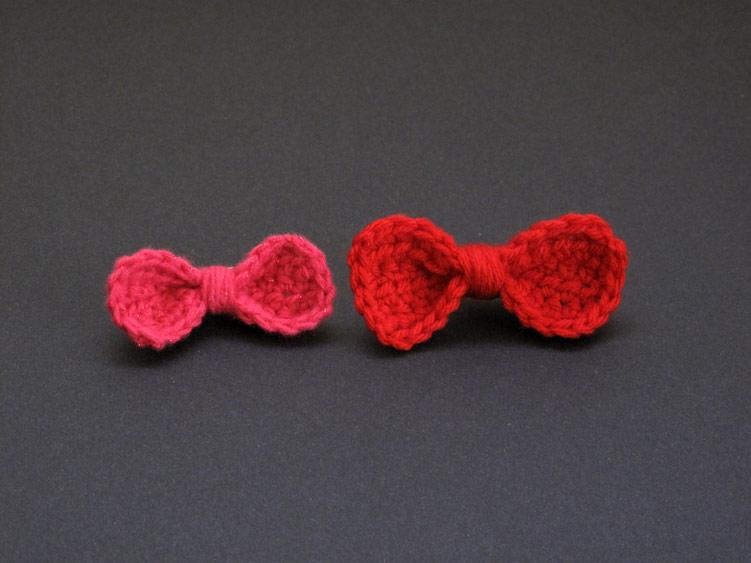 Crochet Bow : The Enchanted Ladybug: FREE Pattern: Crochet Bow Barrette