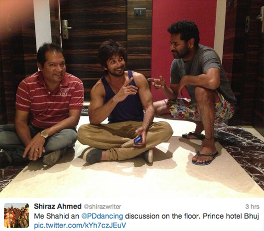 Shahid Kapoor Body In Rambo Rajkumar