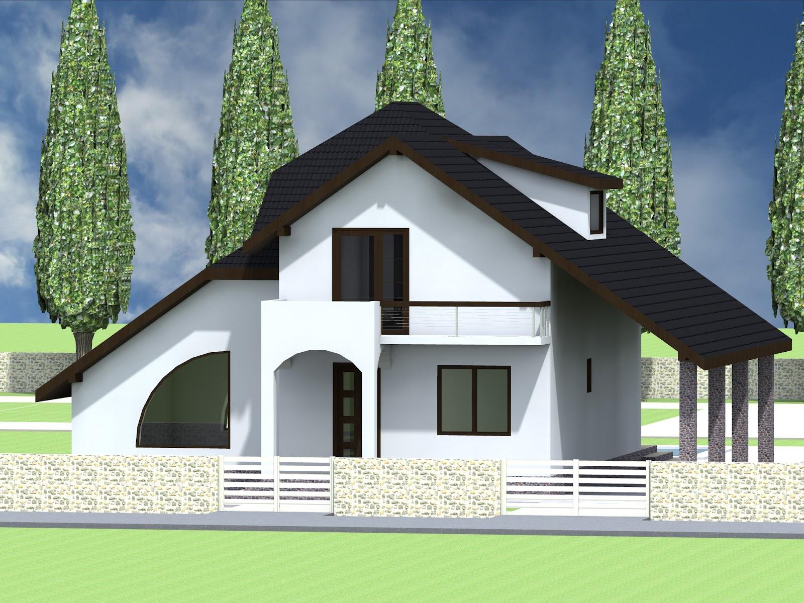 Proiecte constructii for Modele de case mici