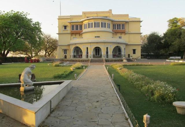 Brij Raj Bhawan Palace Front View