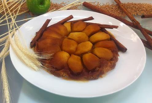 Tarte tatin - Torta invertida de maçã