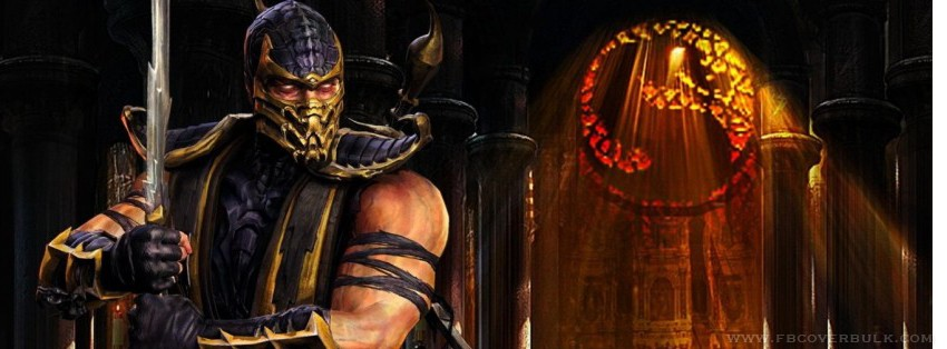 Scorpion Mortal Kombat Facebook Timeline Cover
