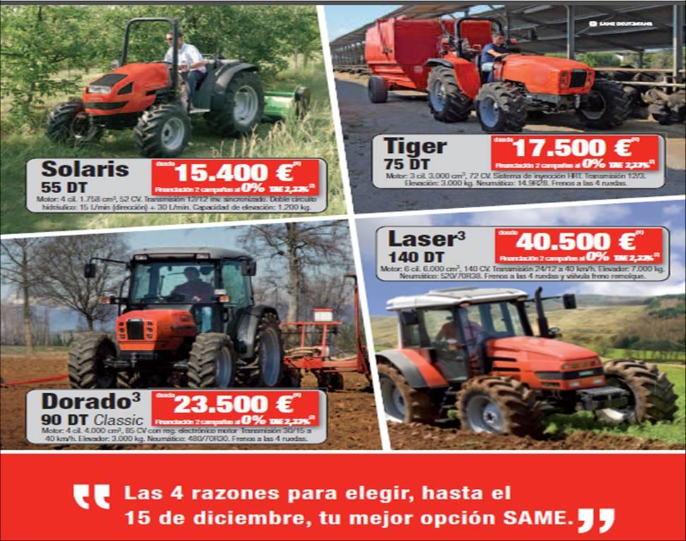 M s que m quinas agr colas precios de tractores nuevos for Precios de futones nuevos