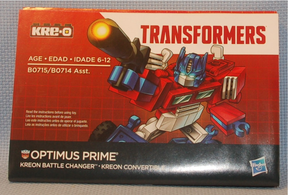 Purity Kre O 80715 Transformers Optimus Prime